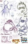 Doodles: Monsters University - ROR