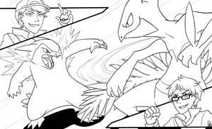 Collab [with Akbarbisul]: Pokemon Battle!