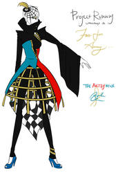 Project Runway Challenge 12 - Far Far Away by Miss-Bow