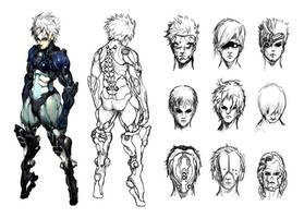 Assassin Sketches by ConceptualMachina