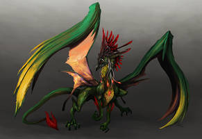 Forest Dragon by ConceptualMachina