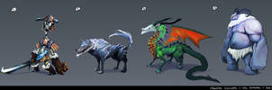 Monster Concepts Var and the Vikings by ConceptualMachina
