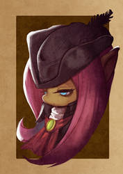 Lady Fluttershy  by WTColor