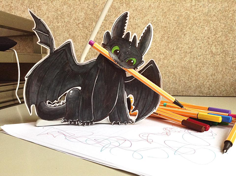 Toothless by LittleAsura