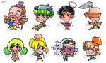 Chef Wars Chibis: Batch 1 by LittleAsura