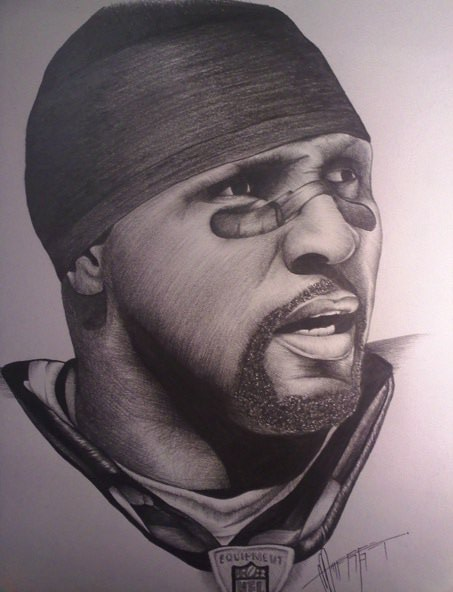 Ray Lewis Drawings Ray lewis. by mrherget
