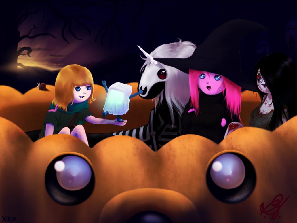 Halloween Time by Brandokin-Skyhopper