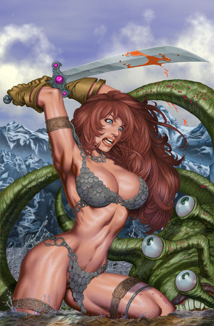 Red Sonja by skillman