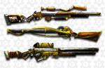 steampunk rifles