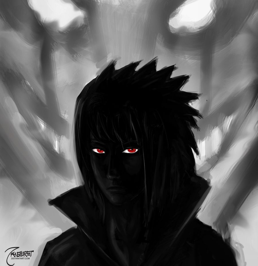 curse mark sasuke wallpaper