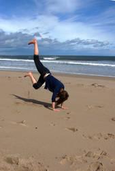 Beach Breakdance
