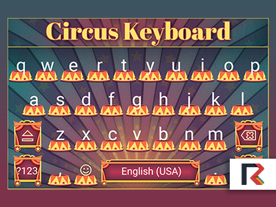 Circus Keyboard by InterGrapher
