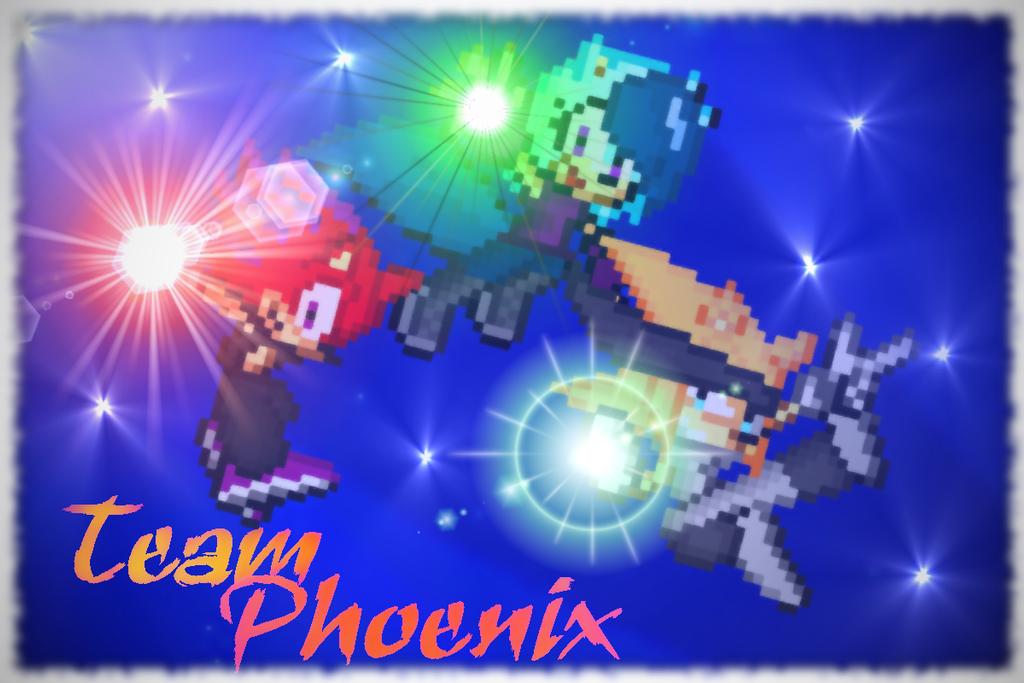xX~Team Phoenix~Xx by leothehedgehog071000