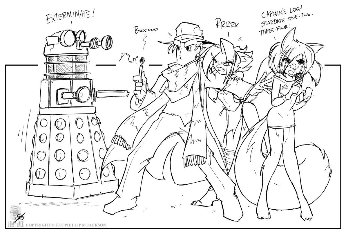 SA Doctor Who by jollyjack