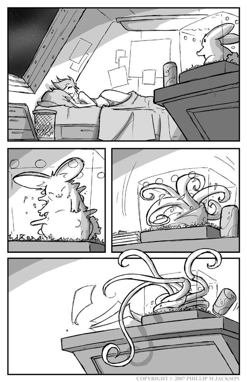 Alien Bunny by jollyjack