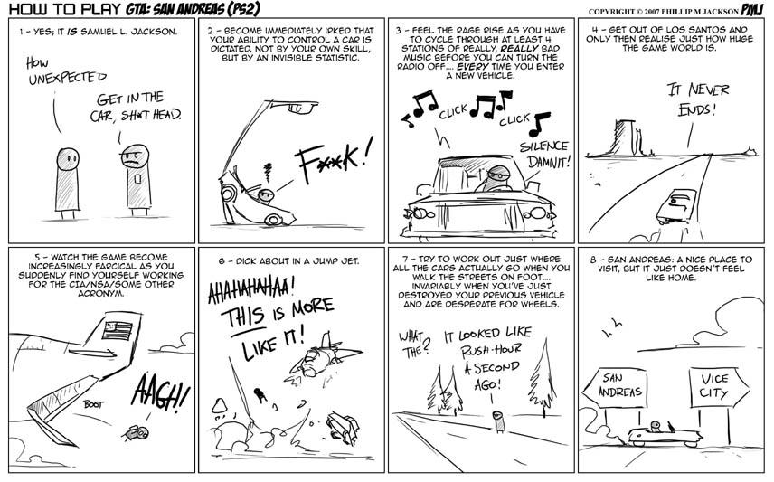 How to play GTA San Andreas by jollyjack