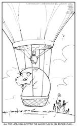 Hot Air Hippo by jollyjack