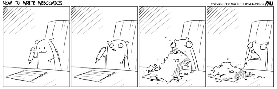 How to write Webcomics. by jollyjack