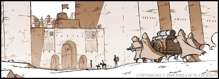 City Gates by jollyjack