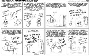 How to play Force Unleashed by jollyjack