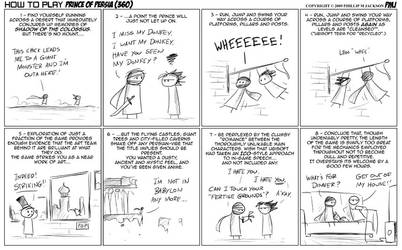 How to play Prince of Persia