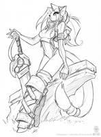 Kat of Lorcraft by jollyjack