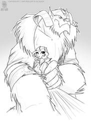 Beauty and The Beast by jollyjack