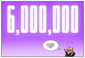 Six Million Pageviews