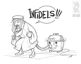 INFIDELS by jollyjack
