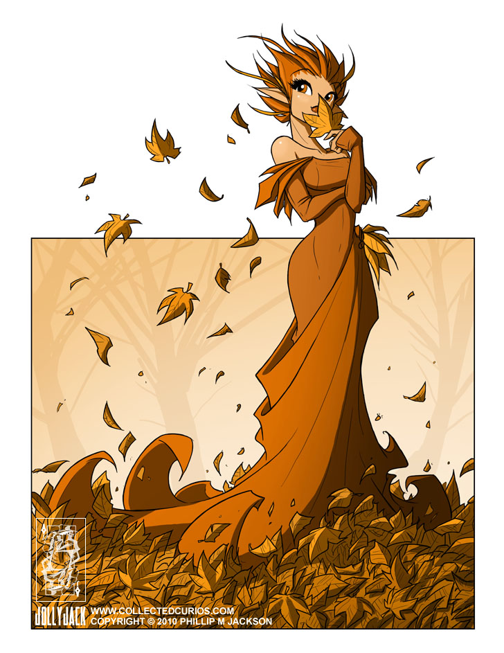 Autumn Fairy by jollyjack