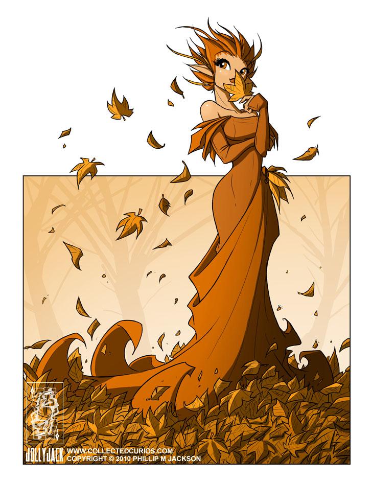 Autumn Fairy by jollyjack