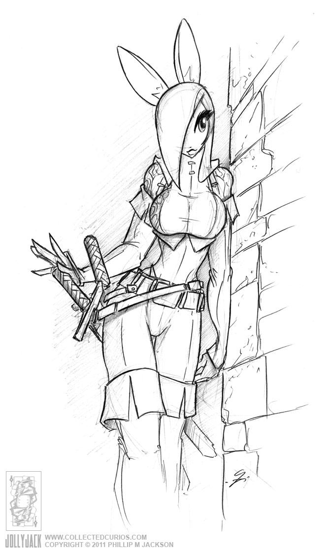Connie Sketch 2011-03-13 by jollyjack