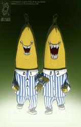 Bananas in Pajamas by jollyjack