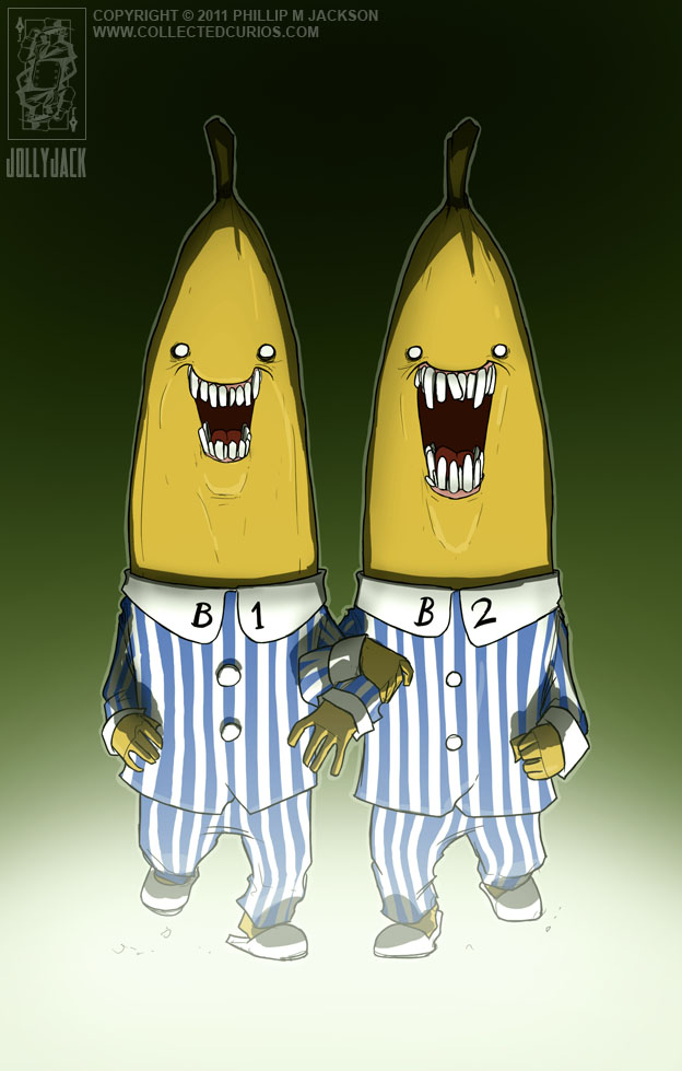 Bananas in Pajamas by jollyjack