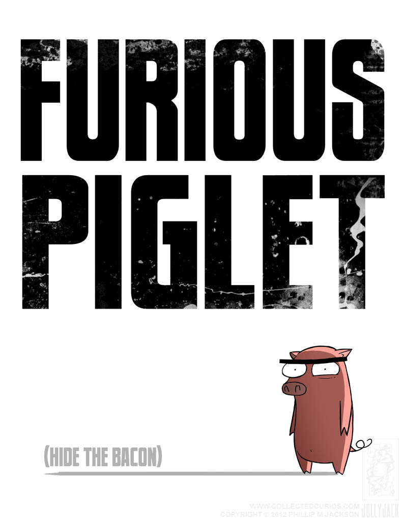 Furious Piglet by jollyjack