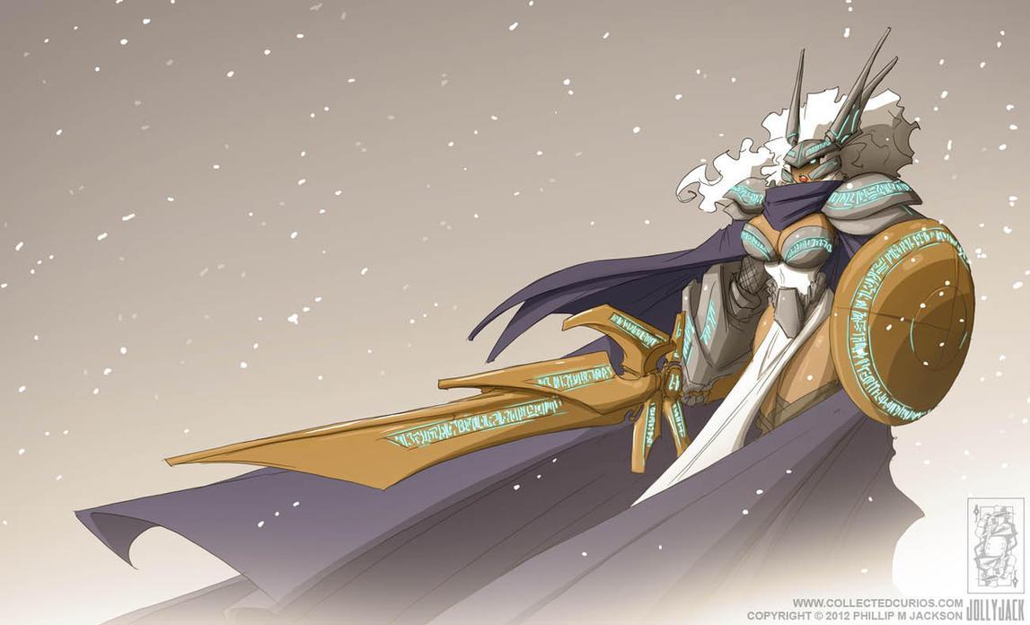 Valkyrie Armour Helga by jollyjack