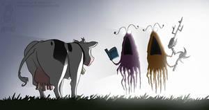 yipyipyipyip.......cow.