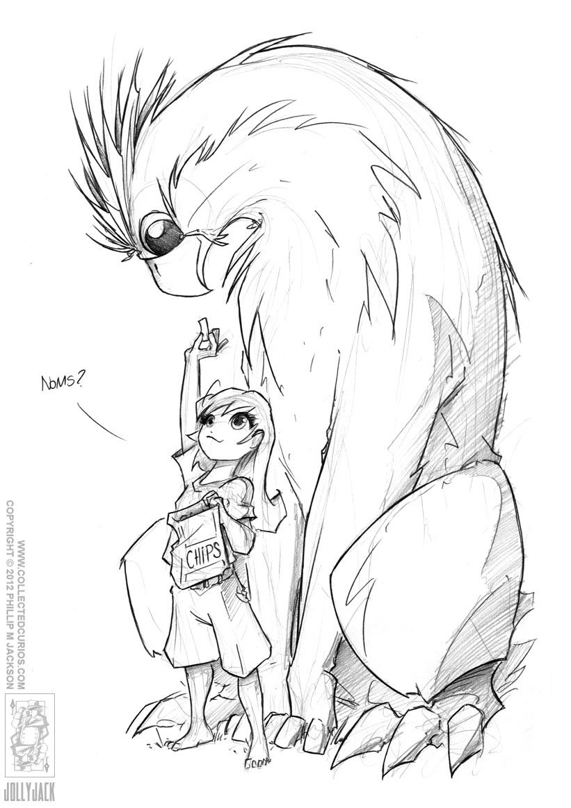 Griffin Noms by jollyjack