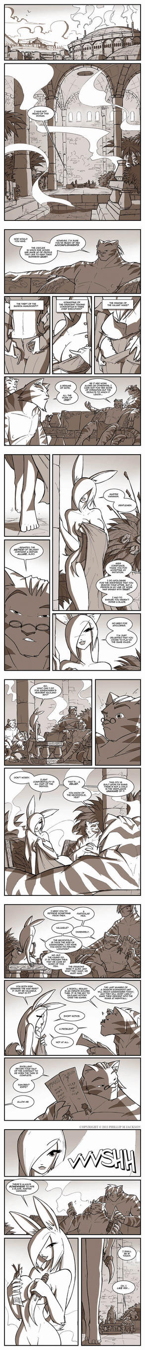 More Old Battle Bunnies Pages by jollyjack