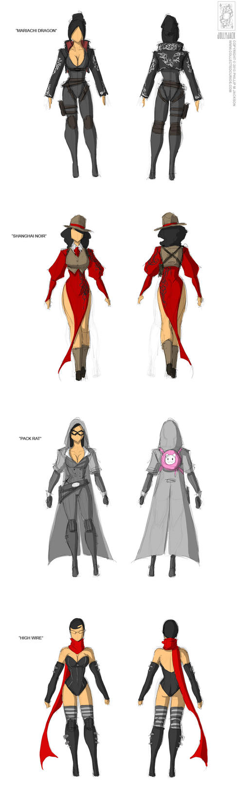 Costume Designs 2013-02-19 by jollyjack