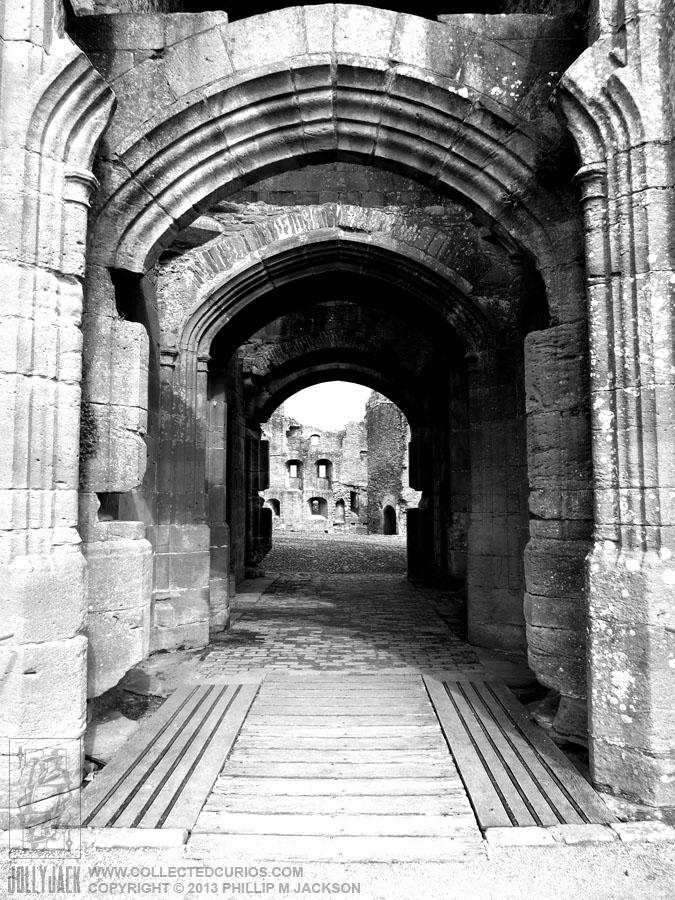 Raglan Castle 03 by jollyjack