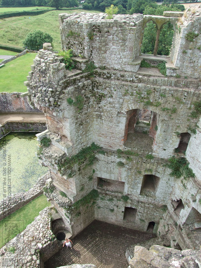 Raglan Castle 07 by jollyjack