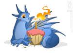 Cupcake Dragon