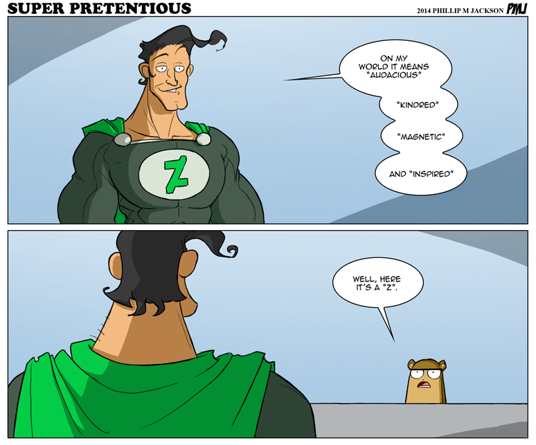 Super Pretentious by jollyjack