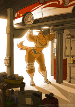Werewolf Mechanic