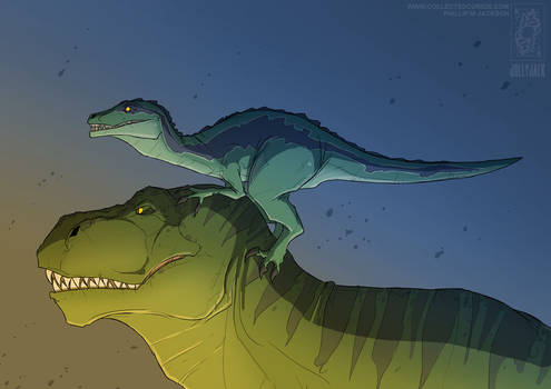 Rex and Blue