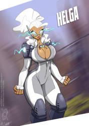 Overwatch Helga by jollyjack