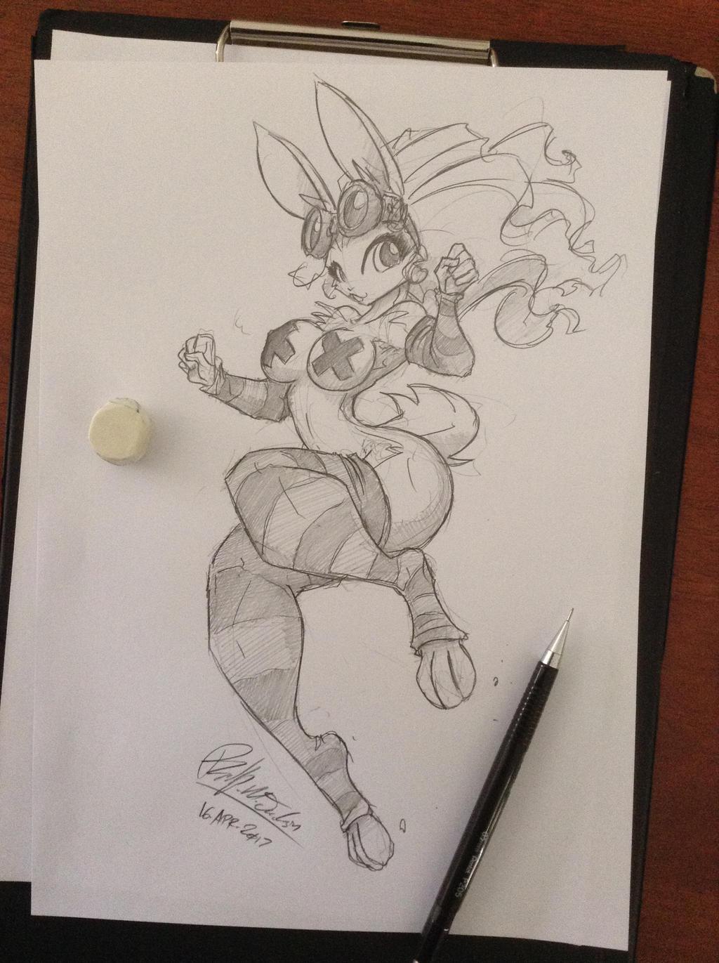 Hot Cross Bunny by jollyjack