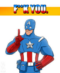 F**k you, Cap. by jollyjack