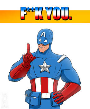 F**k you, Cap.